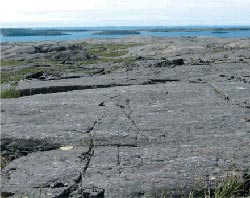 Oldest rocks ever found, in Quebec Canada