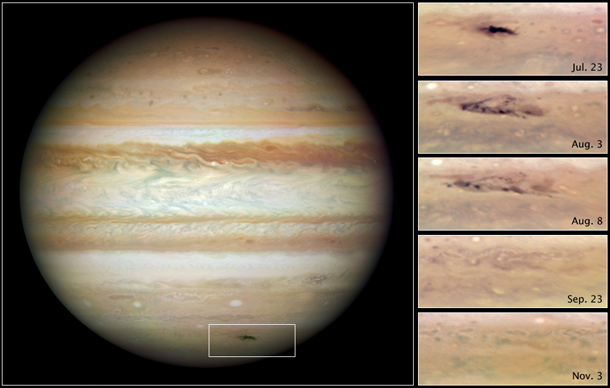 jupiter gives us a taste of armageddon