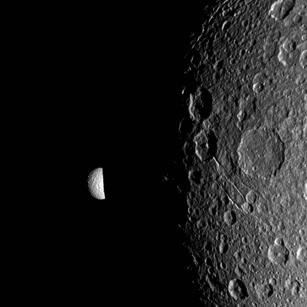 Dione And Mimas Have Mutual Event
