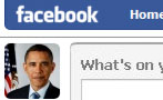 What Sarah Palin Wrote in Obama's Facebook Feed