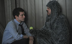 Elijah Wood in Wilfred. Click image to expand.