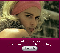 Click here for a video slide show on Johnny Depp's long run of  gender-bending roles.