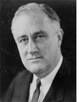 Franklin Delano Roosevelt. Click image to expand.