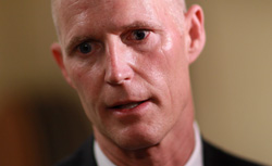 Florida Gov. Rick Scott. Click image to expand.