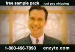 Still from an Enzyte commerical.