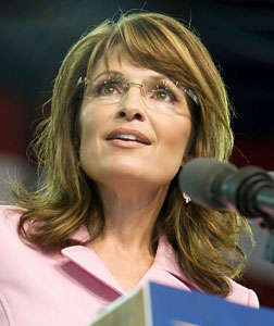 Sarah Palin. Click image to expand.