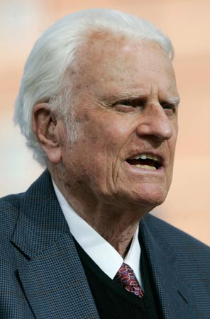 billy graham. Billy Graham.