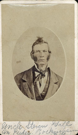 Stephen R. Wall, O.S.B. Wall's father and owner. Click image to expand.