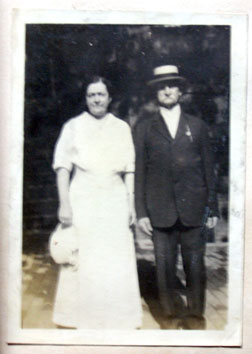 Stephen and Lillie Wall, O.S.B. Wall's son and daughter-in-law. Click image to expand.