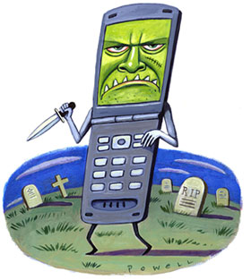 Evil Cell Phones