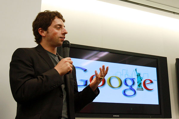Google co-founder Sergey Brin.