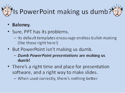 Powerpoint slide.