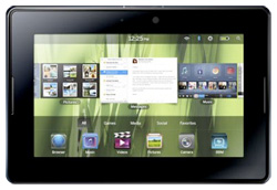 The BlackBerry Playbook Tablet.