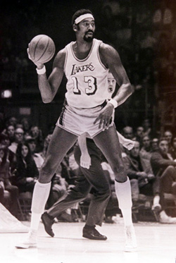 Wilt Chamberlain. Click image to expand.