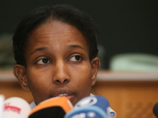 Ayaan Hirsi Ali.