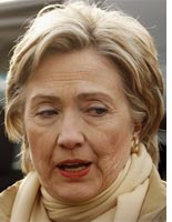 hillary clinton looking haggard