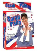 """This Is not Sarah Palin Inflatable Love Doll"" made by Topco."