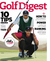 Golf Digest cover.