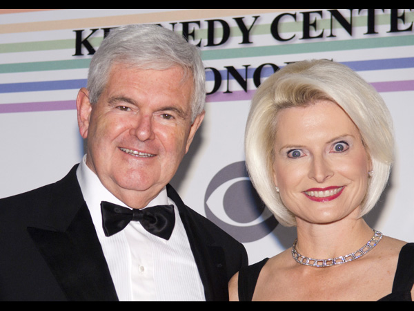 newt gingrich wives. Newt Gingrich 2012: Over