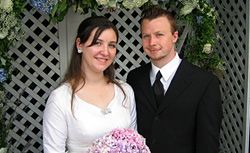 Katie Arnold-Ratliff and her husband. Click image to expand.