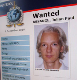 Australian publisher and activist Julian Assange