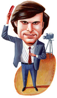 Douglas Brinkley charicature from slate