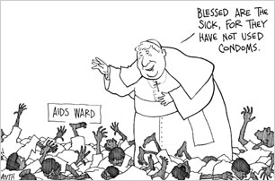 TODAY'S CARTOONS: Cartoonists' take on religion.